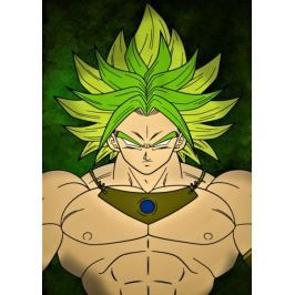 Dragon Ball - Broly - plakat