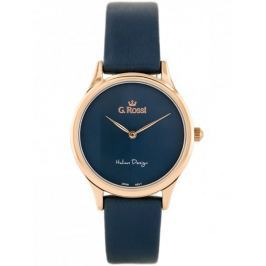 GINO ROSSI - 11765 (zg768g) navy blue/rose gold
