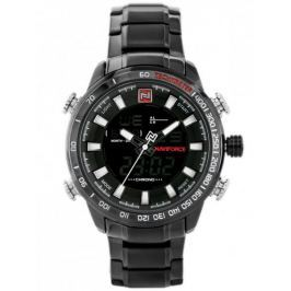 Męski zegarek NAVIFORCE - NF9093 (zn041c) - black/white